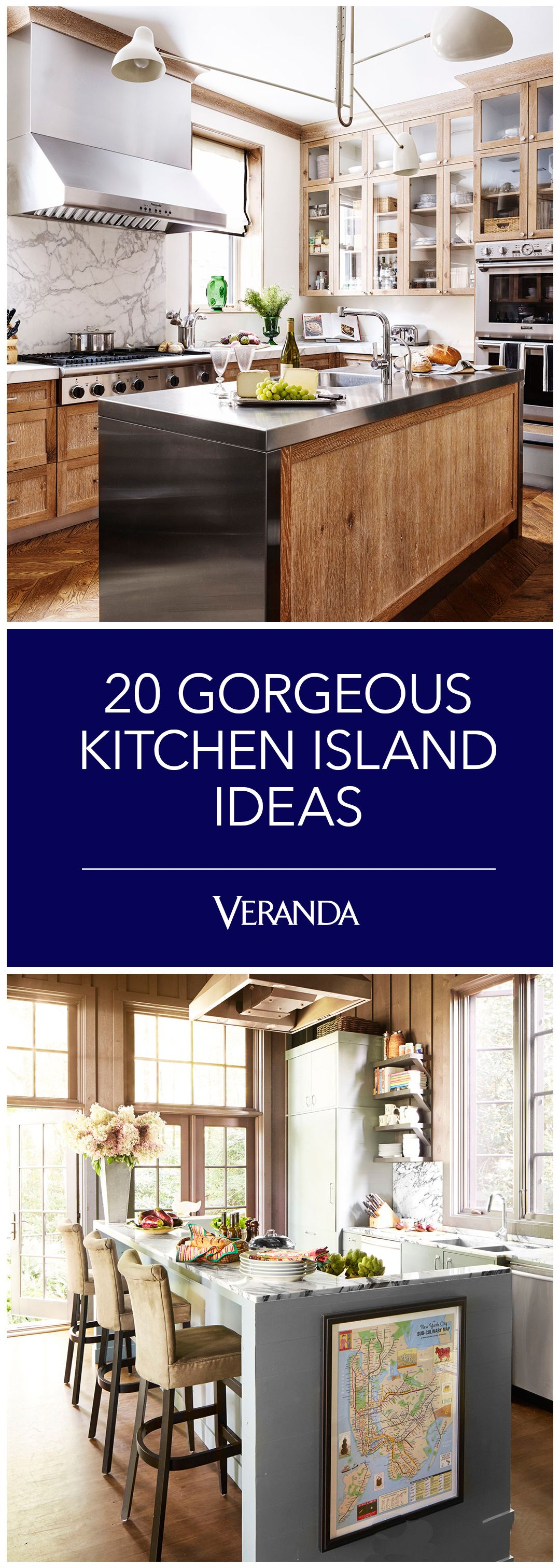 Best 20 Beautiful Kitchen Islands Brimming With Style Kitchen 400 x 300