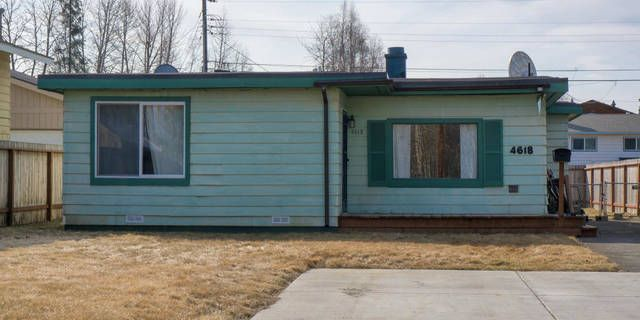Great 2 bedroom, 1 bath ranch style home near parks and recreation. This home offers a large fenced back yard with big deck, RV parking and large front yard. Newer paint, some new cabinets & vinyl flooring!