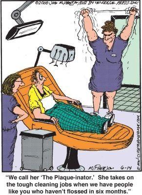 Dental humor, haha