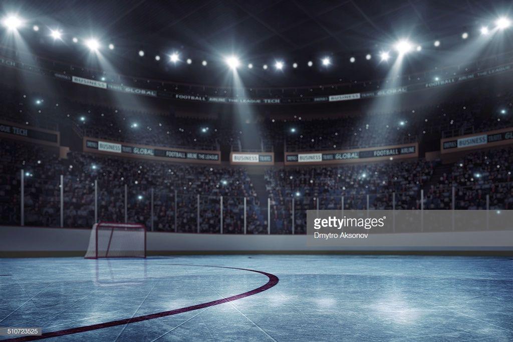 Professional Hockey Stadium Arena In Indoors Stadium Full Of Hockey Arena Hockey Hockey Stick