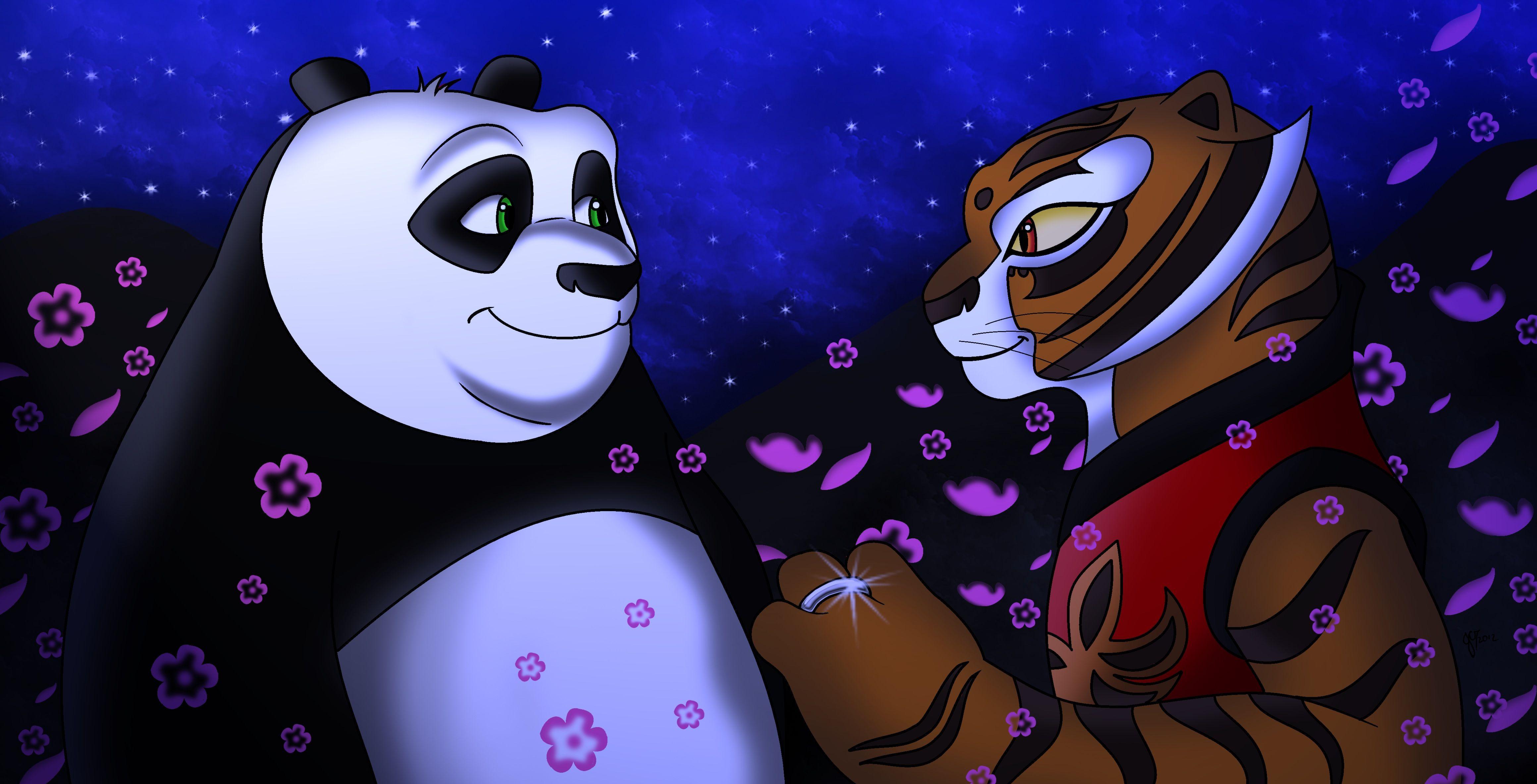 Po and Tigress by Taylor-Denna on DeviantArt