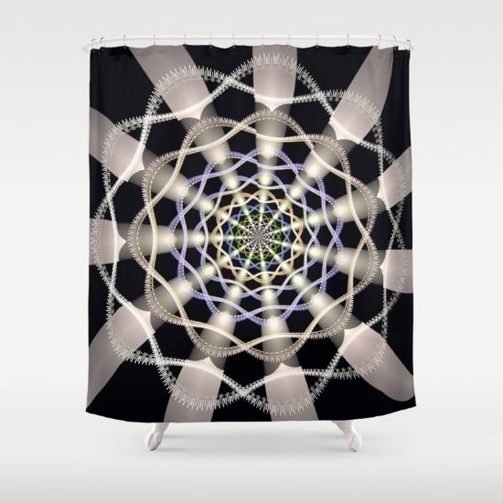 Catching the light. Shower Curtain