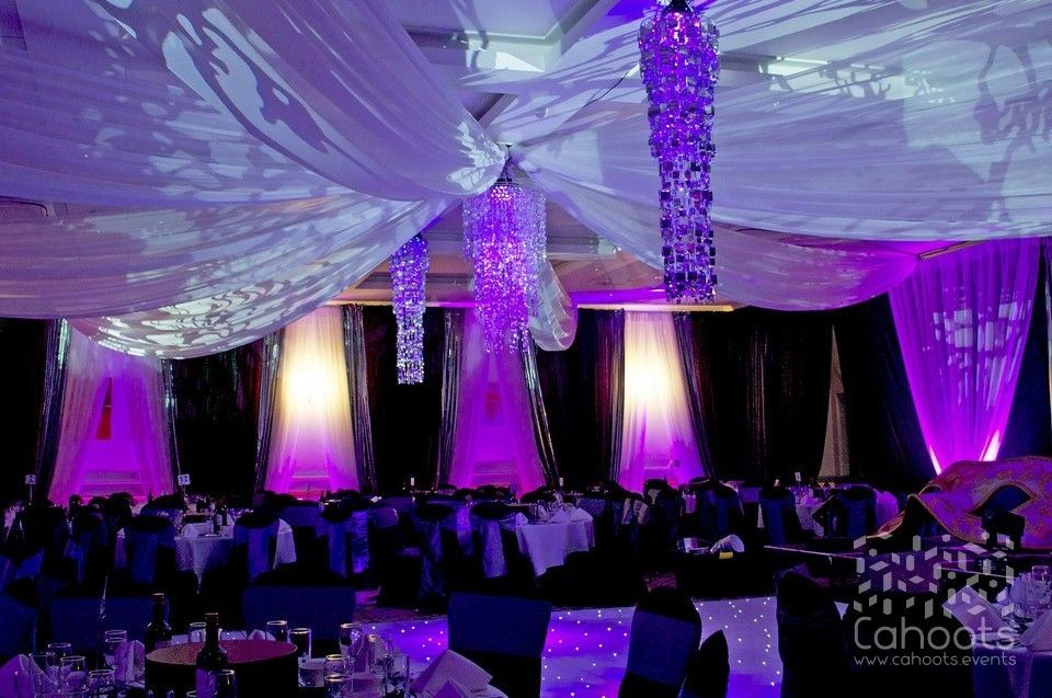 Decorations For A Masquerade Ball Cahoots  Themed Events Decadent Lighting And Drapes For A