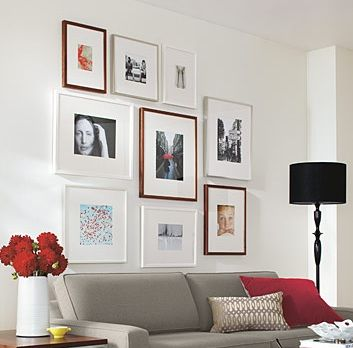 Photo Frames for Wall Decor | For the Home | Pinterest | Wall décor ...