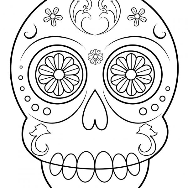 Dibujos De Calaveras Para Colorear Decalaveras Com Calaveras Para Colorear Calaveras Dibujos Calaveras