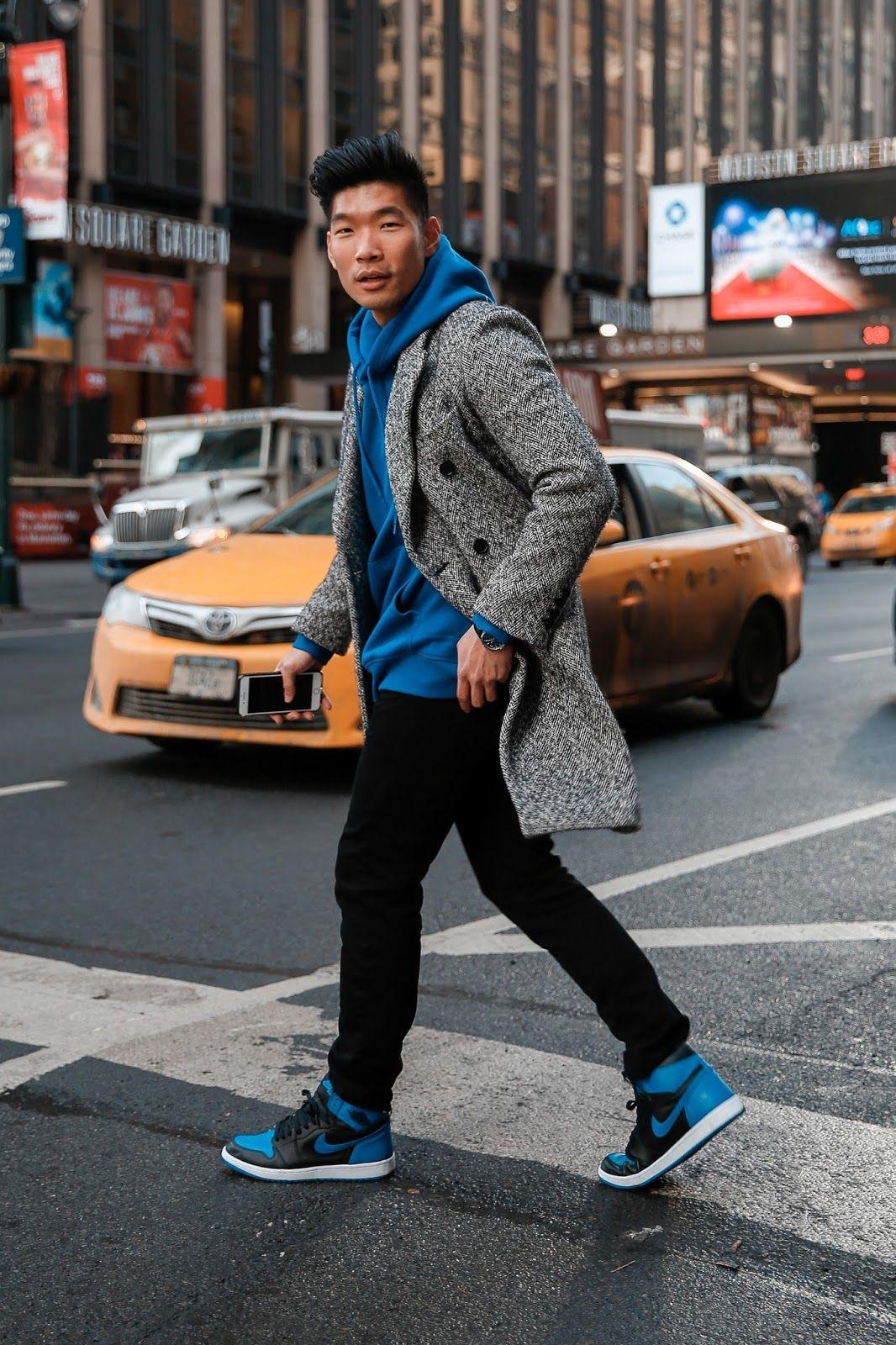 How To Wear Hoodie + Topcoat