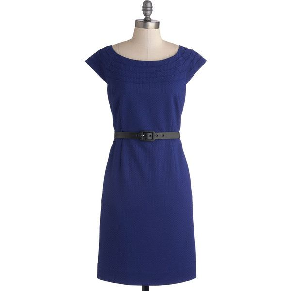 myrtlewood mid length cap sleeves shift lead by example dress 645