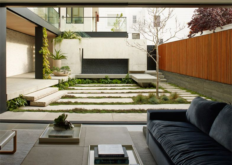 San Francisco Home Featuring Planted Terraces Influenced By Japanese Garden  Design.