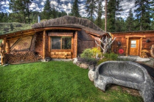 The Hobbit House Montana Hobbit House Fall Cottage Cottage Rental