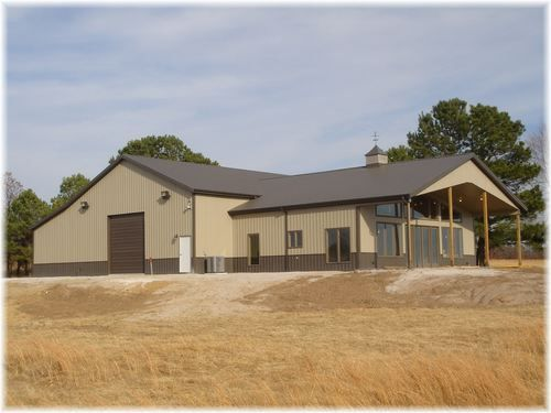 Custom Post Frame Buildings National Barn Company Steel Building Homes Pole Building House Pole Barn Homes