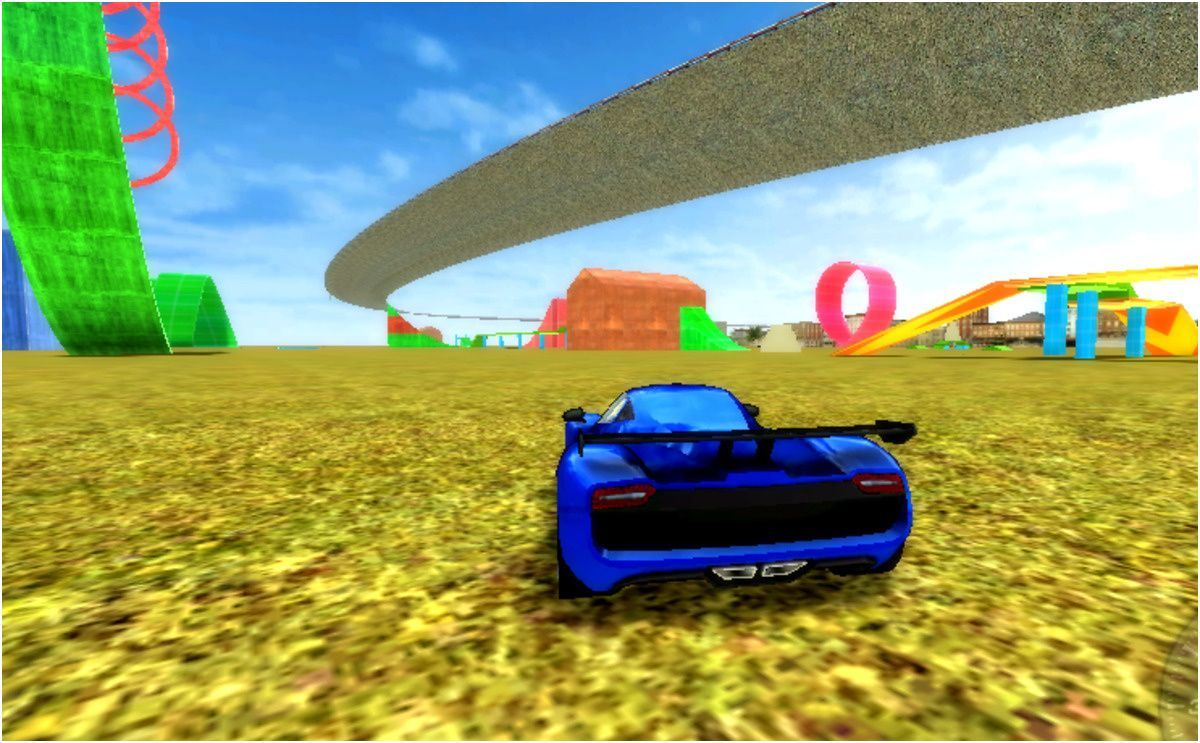Madalin Stunt Cars 2 is a driving game without a scoring