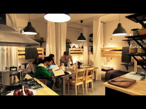 Ikea Interior Designers Demo Small Space Solutions · here is the ...