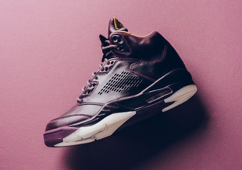 11a1d89cd68e4 Air Jordan 5 Premium Bordeaux Release Date + Photos