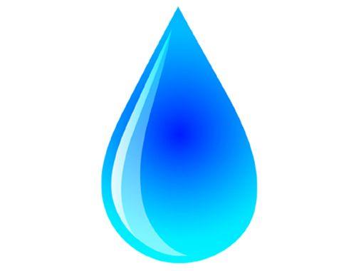 Big Raindrop Template Printable Free Logo free vector clipart - raindrop template