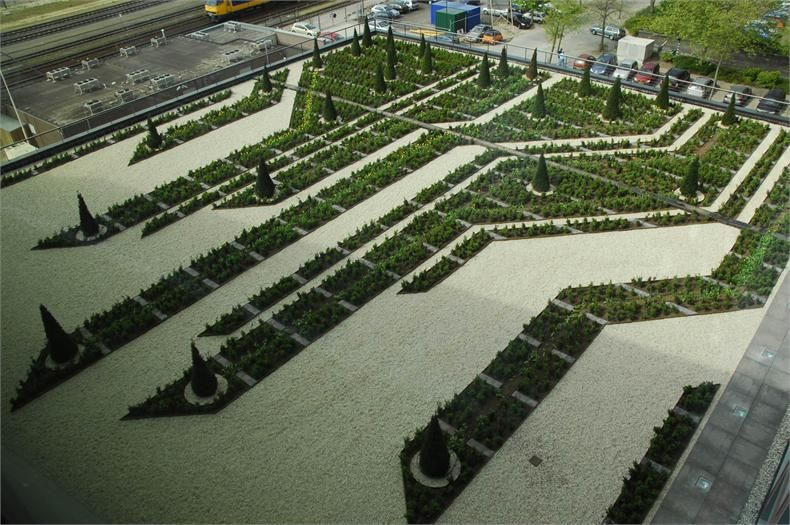 Essent Roofgardens By Buro Sant En Co Urban Garden Design Landscape Elements Urban Landscape