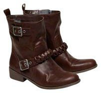 American Eagle Outfitters Buckle brown Boots