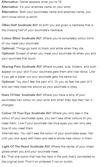 Soulmate AUs | Text Posts and Sheldon | Writing prompts