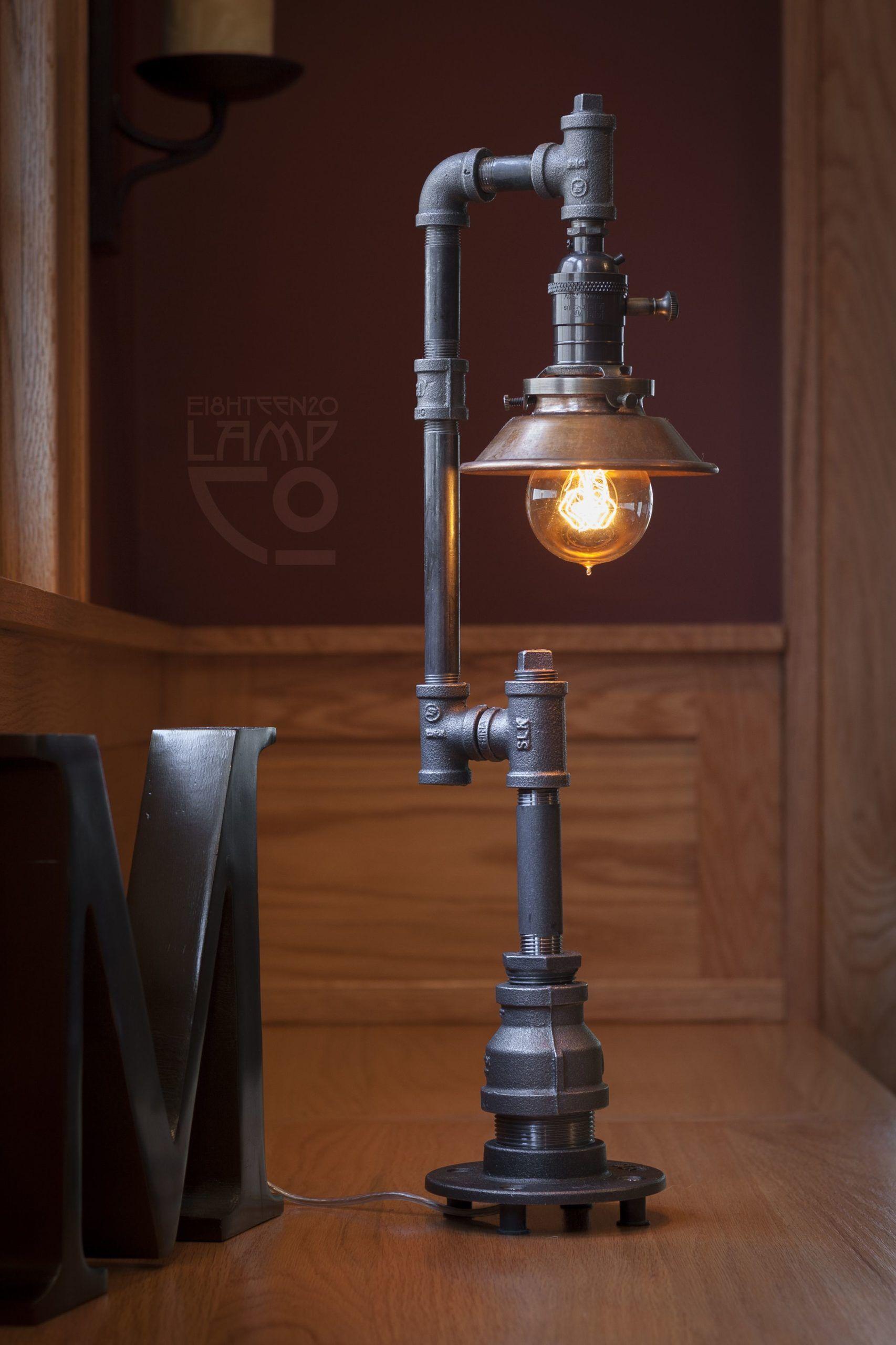 Nr 6 Ei8hteen20 Lamp Co In 2020 Industrie Leuchten Rohr