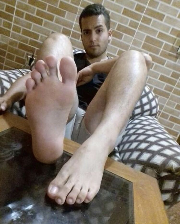 Male foot blog