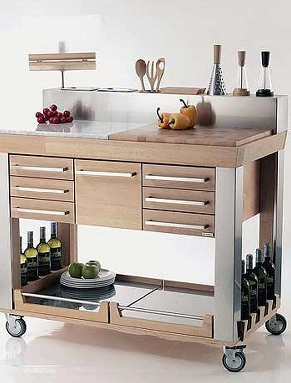 Legnoart Kitchen Cart