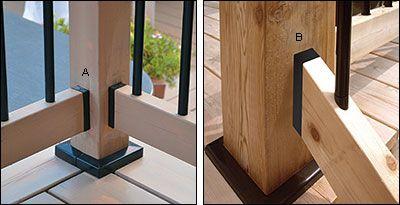 Best Titan 2X4 Railing Connectors Stair Steps Stair Railing 400 x 300