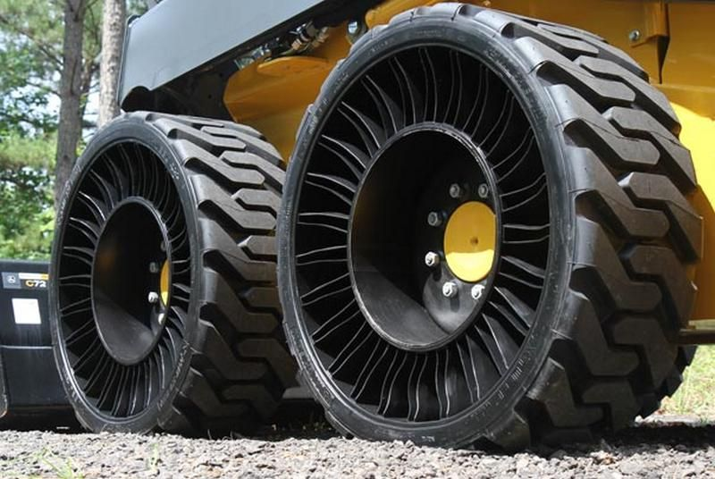 Michelin X Tweel Airless Tires Go Into Production They Provide All The Same Desirable Qualities Found