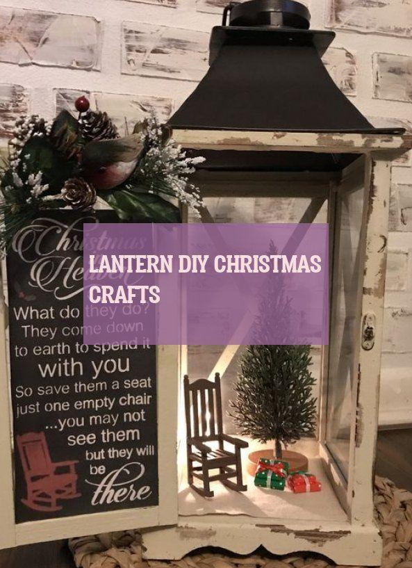 Lantern diy christmas crafts