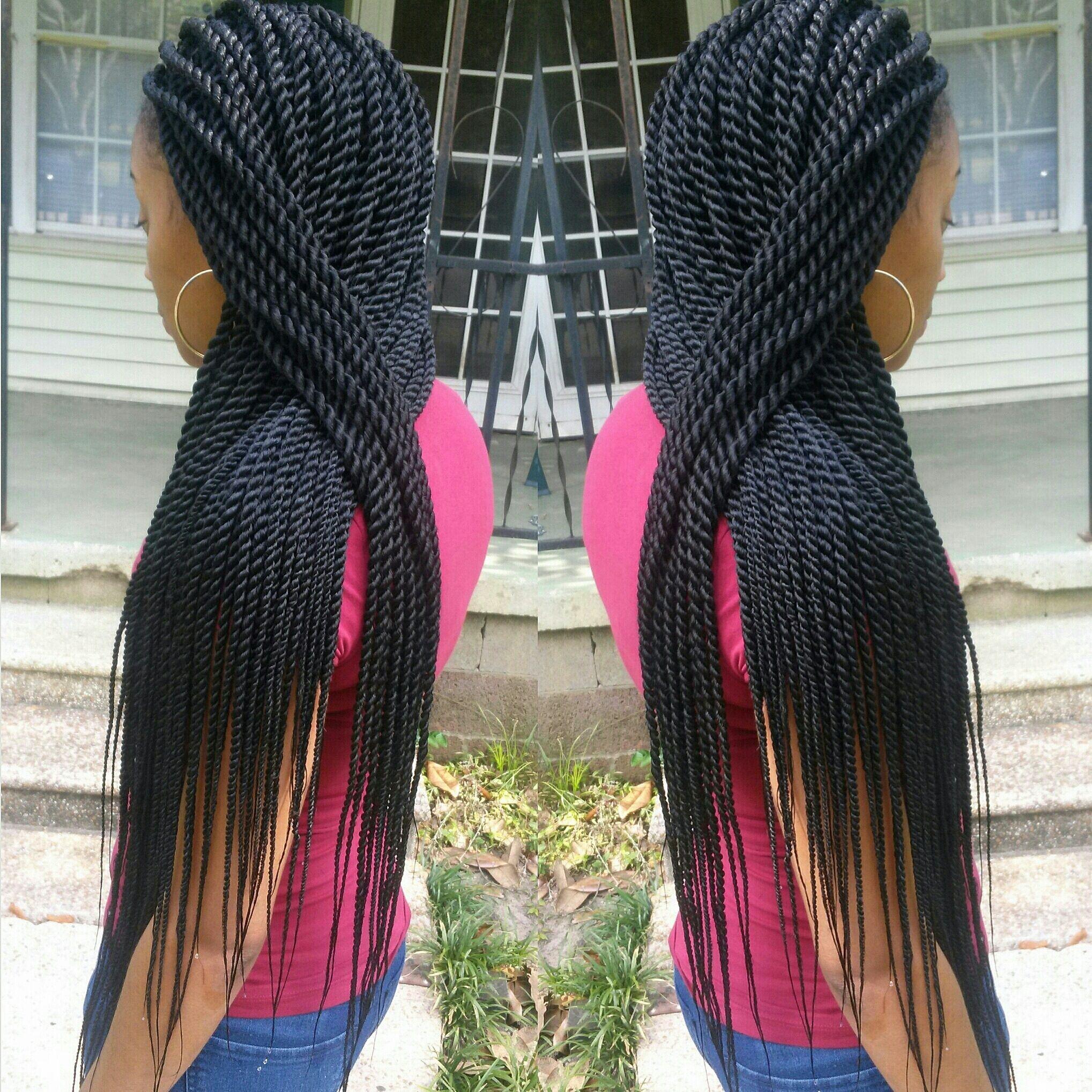 Rope Twists Shared By Braidsbyguvia Twist Hairstyles