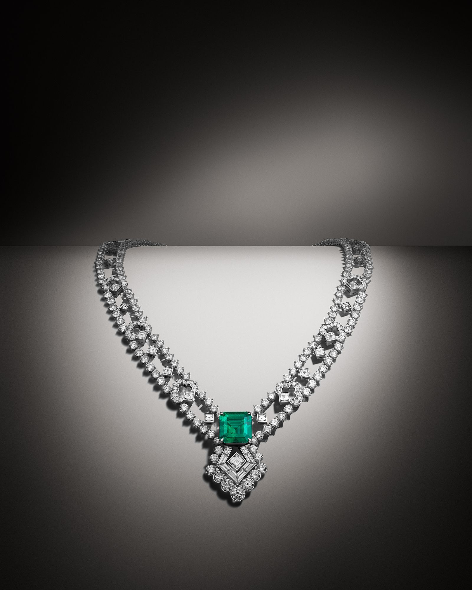 the new high jewellery collection ファインジュエリー ネックレス ダイヤモンド