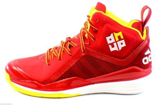 Adidas Dwight D Howard 5 Basketball Shoes Size 8 Superman Houston Rockets