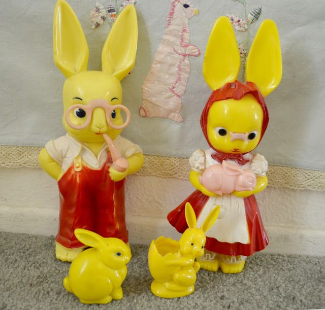 The Copycat Collector: COLLECTION #199: Vintage Easter Toys