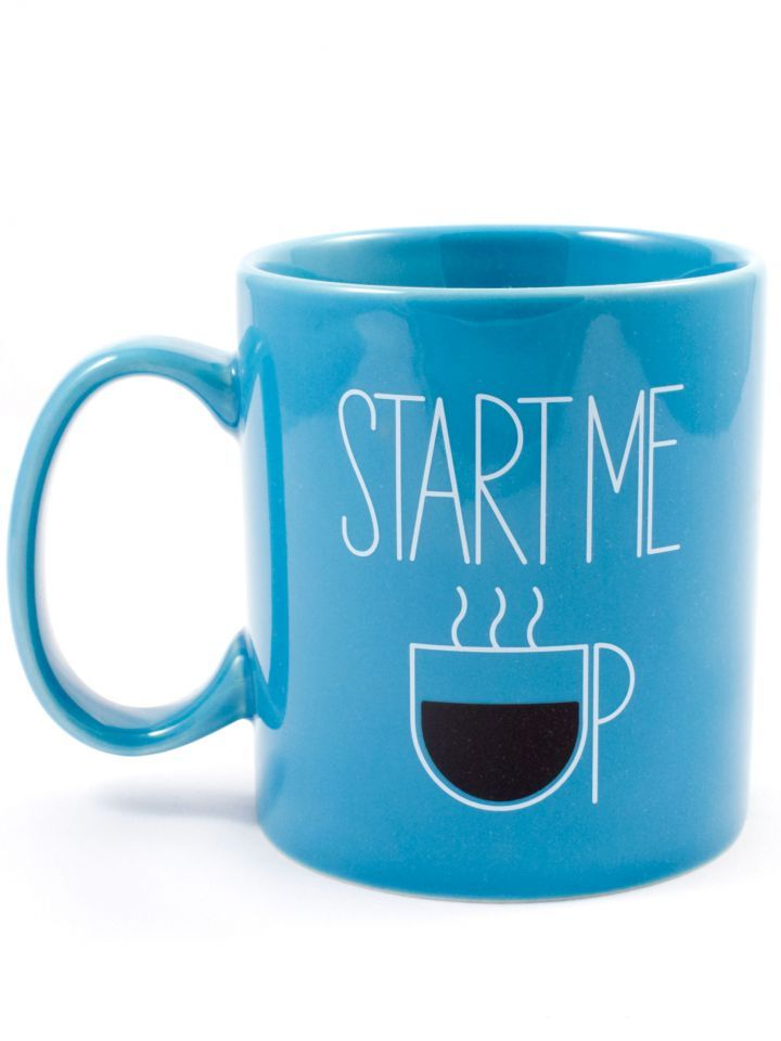 Life is Good Start Me Up Jakes Mug, Available at #EssentialApparel