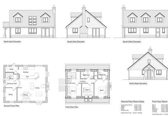 3 bedroom self build timber frame house design solo timber frame