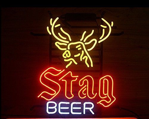 Stag beer real neon sign for your home bar light up your life stag beer real neon sign for your home bar aloadofball Choice Image