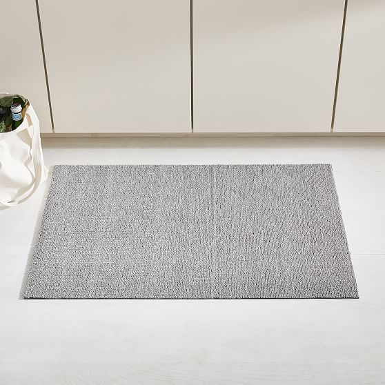 Chilewich Heathered Shag Mat 1 5 X2 3 Pebble Bedding