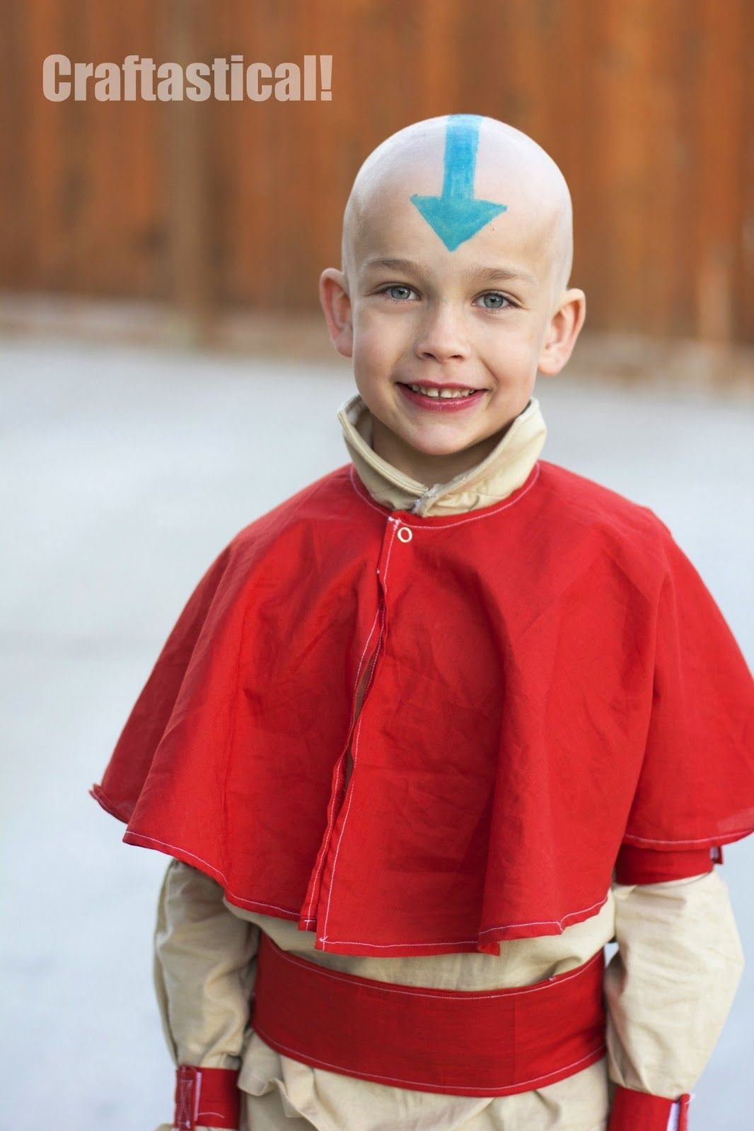 aang from avatar the last airbender halloween costume