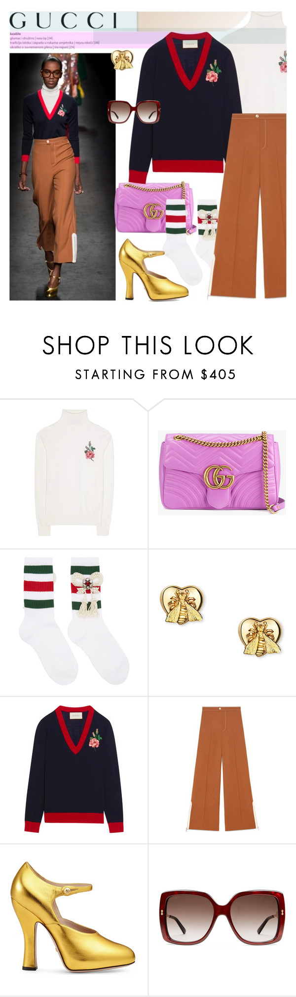 """BA 169: Gucci"" by bugatti-veyron ❤ liked on Polyvore featuring Gucci"