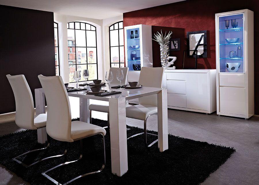 Awesome Meuble De Salle A Manger Blanc Laque Gallery - Design ...