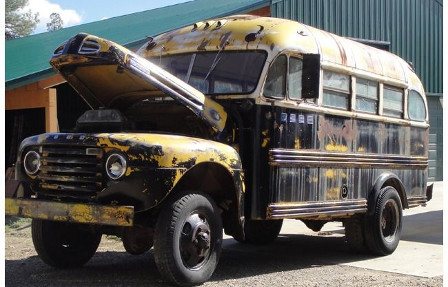 Marmon Herrington F 4 School Bus For Sale Ford Truck Enthusiasts