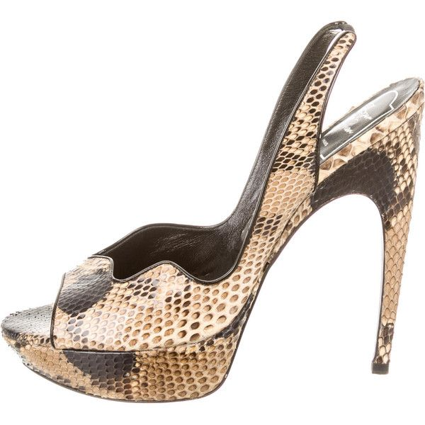 Cheap Sale Wholesale Price Clearance Choice Pre-owned - SNAKESKIN PUMPS Roger Vivier Shopping 2018 Unisex DlOlkijz