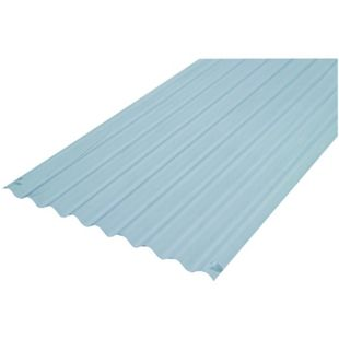 Wickes Pvcu Clear Corrugated Sheet 660 X 3000mm Pvc Roofing Metal Roof Lean To