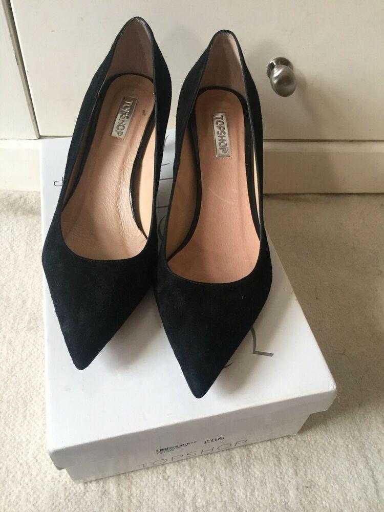 Topshop Black Suede Kitten High Heel Size 6uk Kitten Heels From Ebay Uk Kittenheels Heels 4 99 0 Bids End D Heels Black Kitten Heels Kitten Heel Shoes