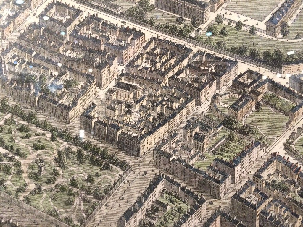 aerial engraving dublin irish history from dublin decoded