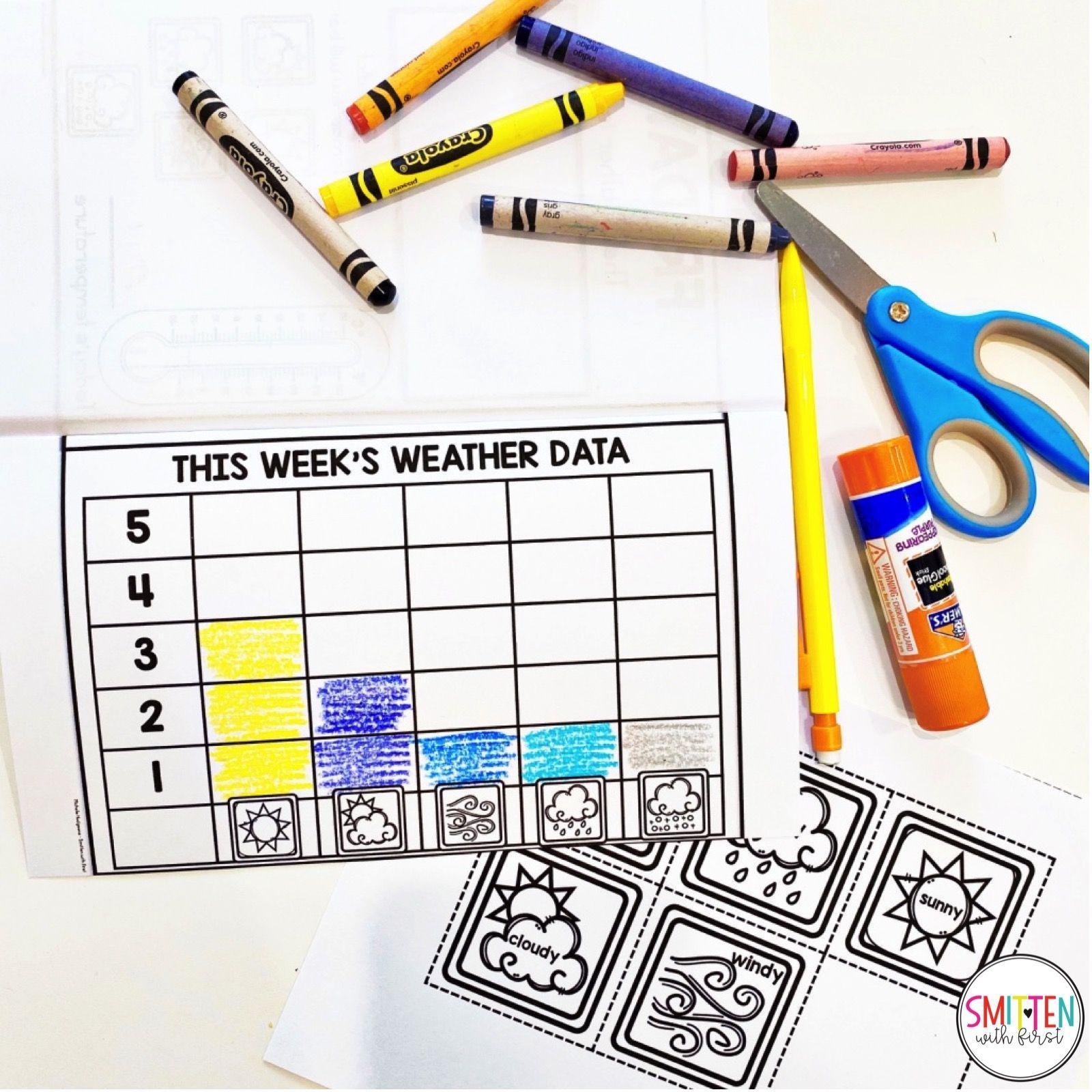 Cloud And Weather Journal Activities For Kindergarten