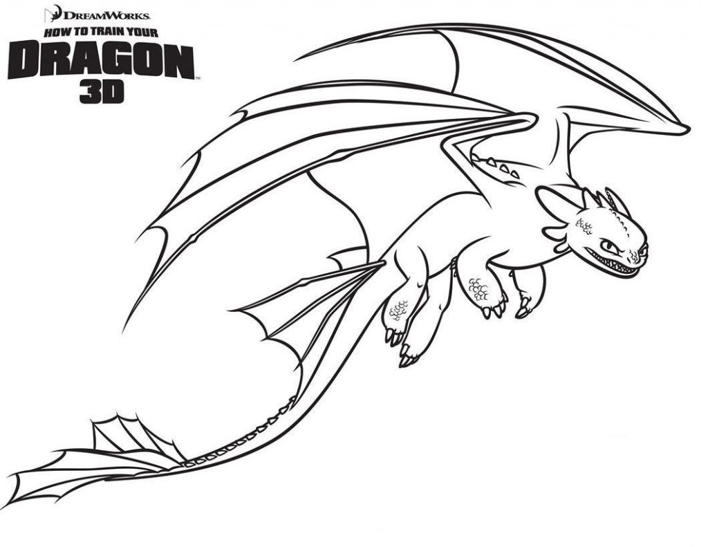 Toothless Coloring Pages - Best Coloring Pages For Kids  Drachen