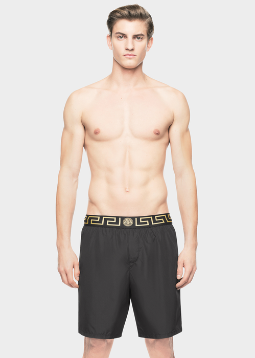 1a0093972aa26 Versace Iconic Greca Medusa swim shorts for Men | US Online Store. Iconic  Greca Medusa swim shorts from Versace Men's Collection.