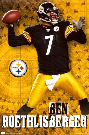 BIG BEN  Love my Steelers