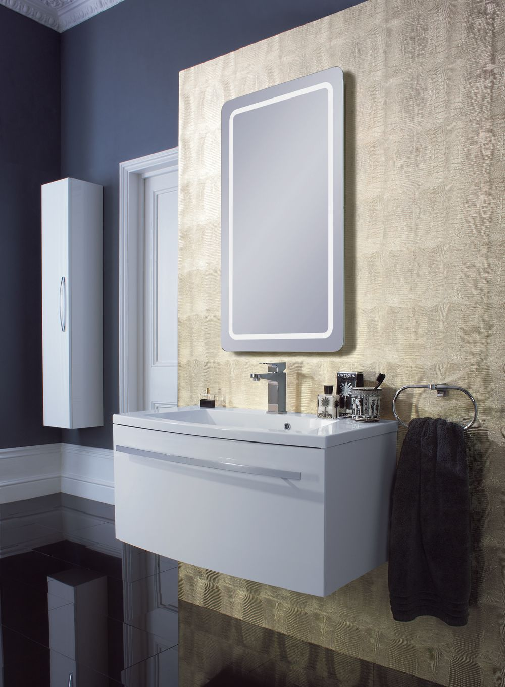 stream white gloss bauhaus bathrooms furniture suites basins ultimate bathroom solutions