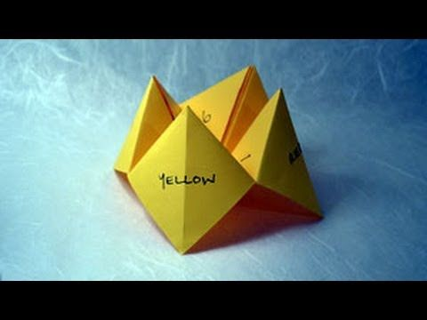 How to make paper craft origami fortune teller step by step diy how to make paper craft origami fortune teller step by step diy tutorial instructions how solutioingenieria Gallery