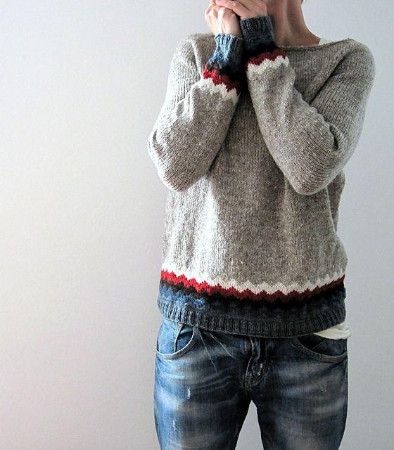 Kaarina Pullover pattern by Isabell Kraemer | Tejido, Puntos y Lana